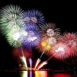 Vízparti tűzijáték