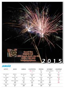 2015. évi tűzijátékos naptár