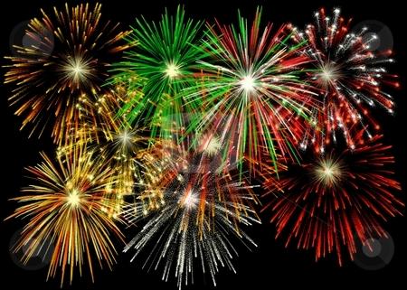 Látványos tűzijáték