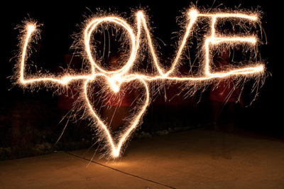 Valentín napi tűzijáték